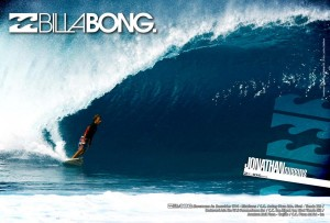 Aviso Billabong Men 210 x 141 mm (Local Maz)