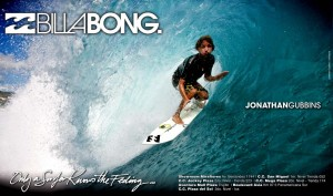 Aviso Billabong Mens 460 x 270 mm (Aqua)_2